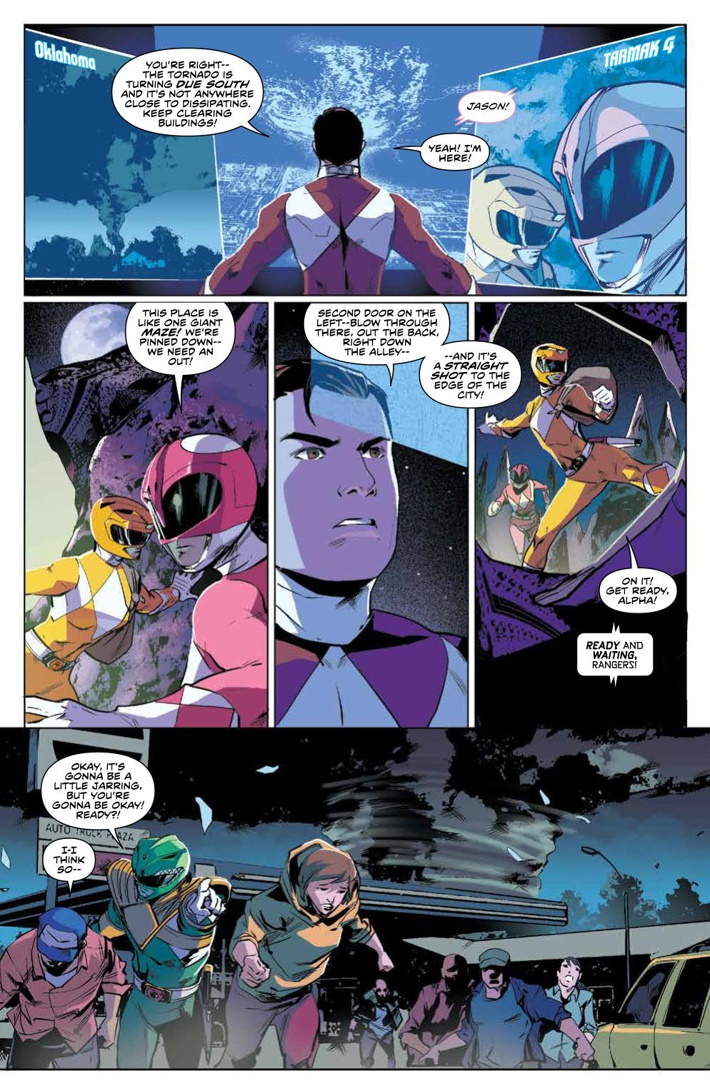 PowerRangers_v5_SC_PRESS_12 ComicList Previews: MIGHTY MORPHIN POWER RANGERS VOLUME 5 TP