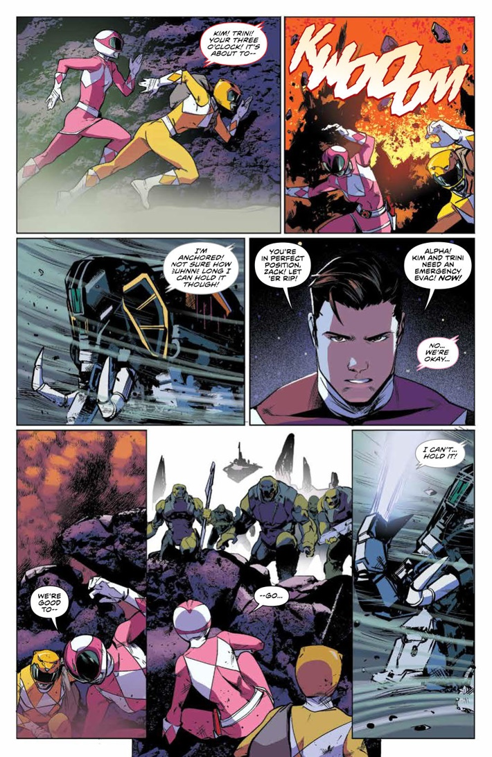 PowerRangers_v5_SC_PRESS_14 ComicList Previews: MIGHTY MORPHIN POWER RANGERS VOLUME 5 TP