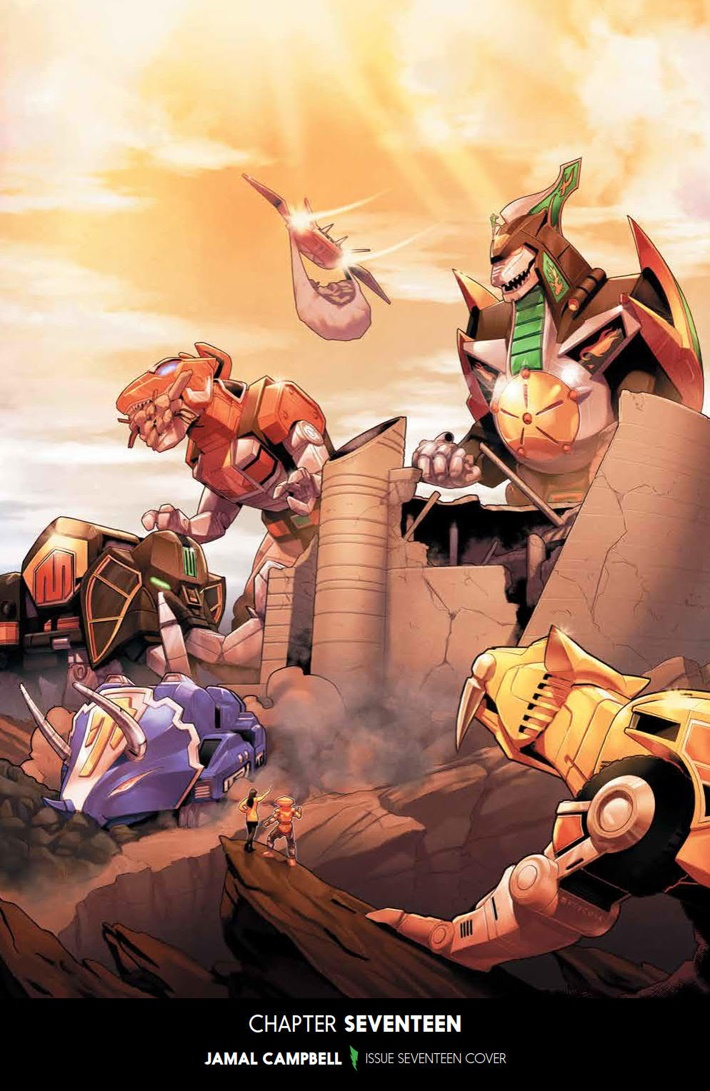 PowerRangers_v5_SC_PRESS_6 ComicList Previews: MIGHTY MORPHIN POWER RANGERS VOLUME 5 TP