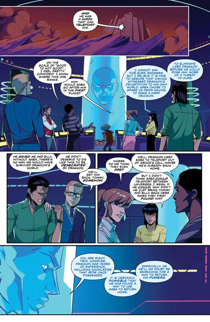 PowerRangers_v7_SC_PRESS_15 ComicList Previews: MIGHTY MORPHIN POWER RANGERS VOLUME 7 TP