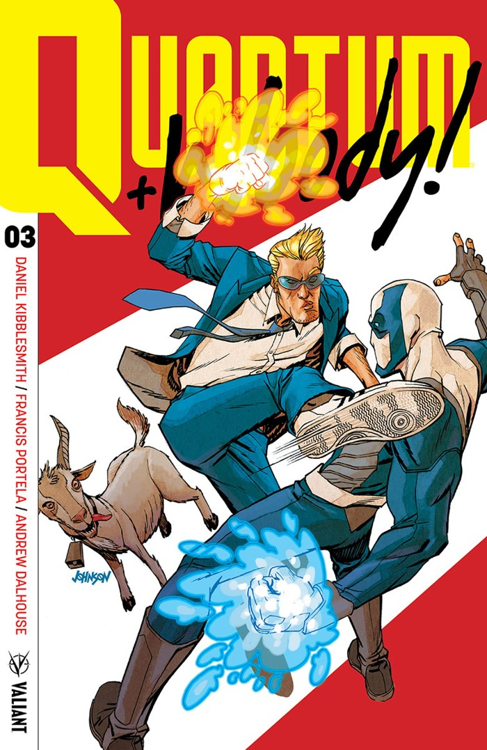 QW2017_003_VARIANT-ICON_JOHNSON ComicList Previews: QUANTUM AND WOODY #3