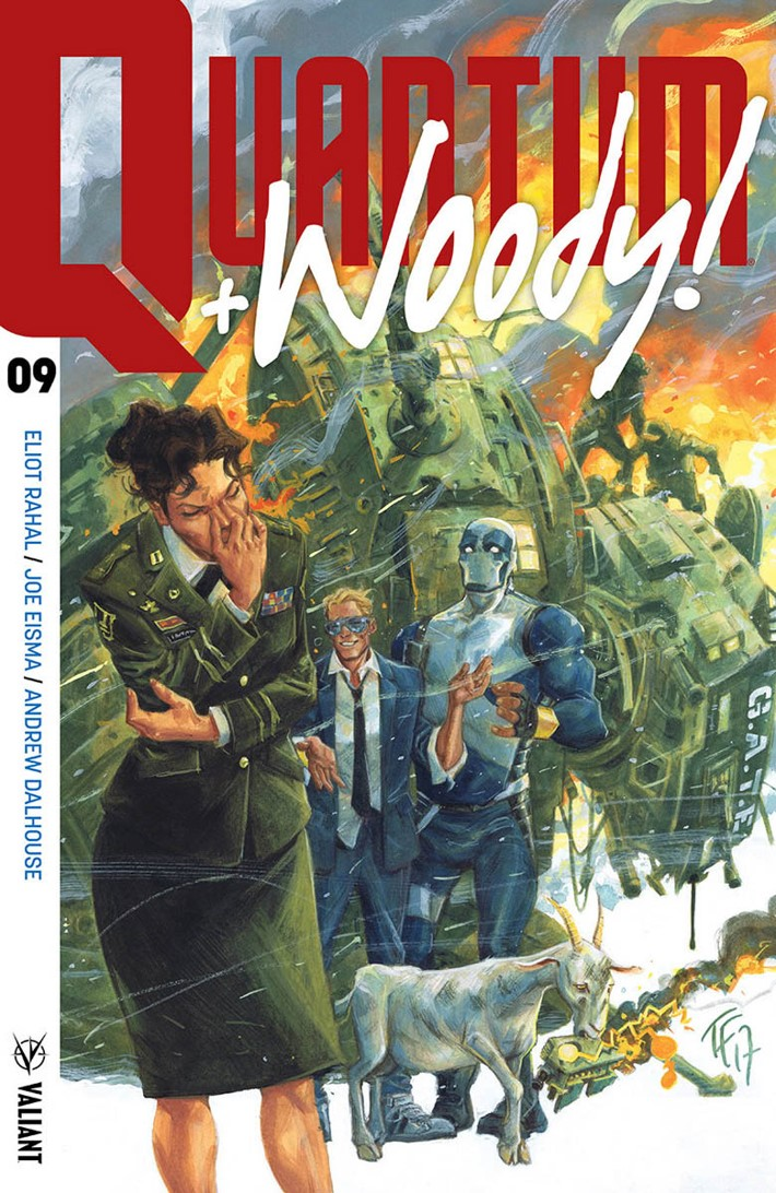 QW2017_009_COVER-A_FOWLER ComicList Previews: QUANTUM AND WOODY! (2017) #9