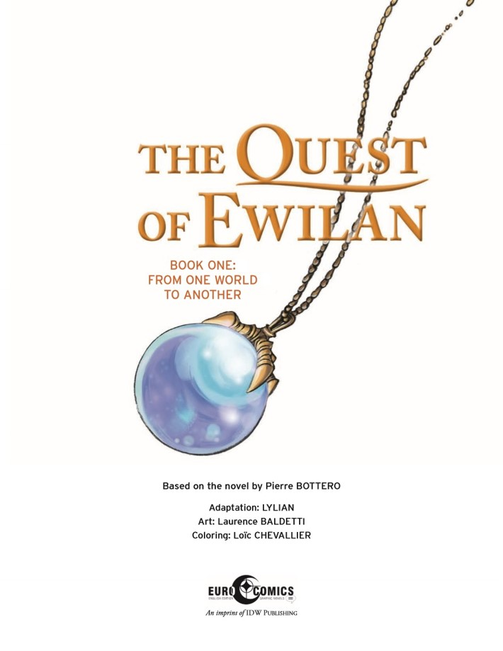 Quest_Of_Ewilan-pr-2 ComicList Previews: THE QUEST OF EWILAN VOLUME 1 FROM ONE WORLD TO ANOTHER HC