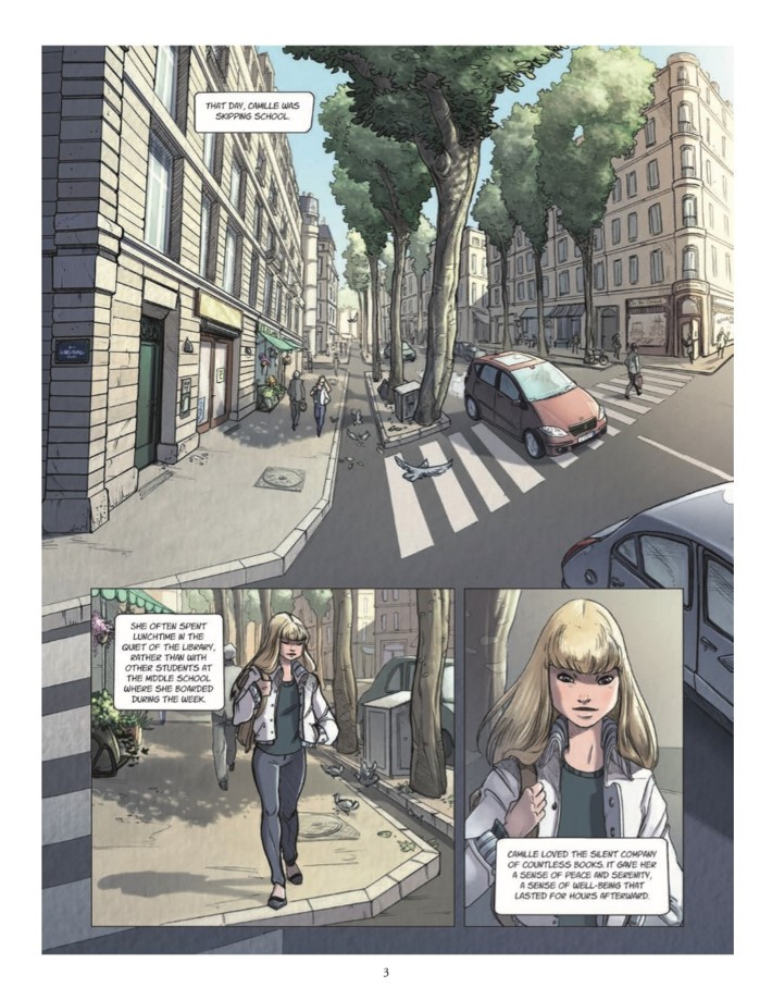 Quest_Of_Ewilan-pr-4 ComicList Previews: THE QUEST OF EWILAN VOLUME 1 FROM ONE WORLD TO ANOTHER HC