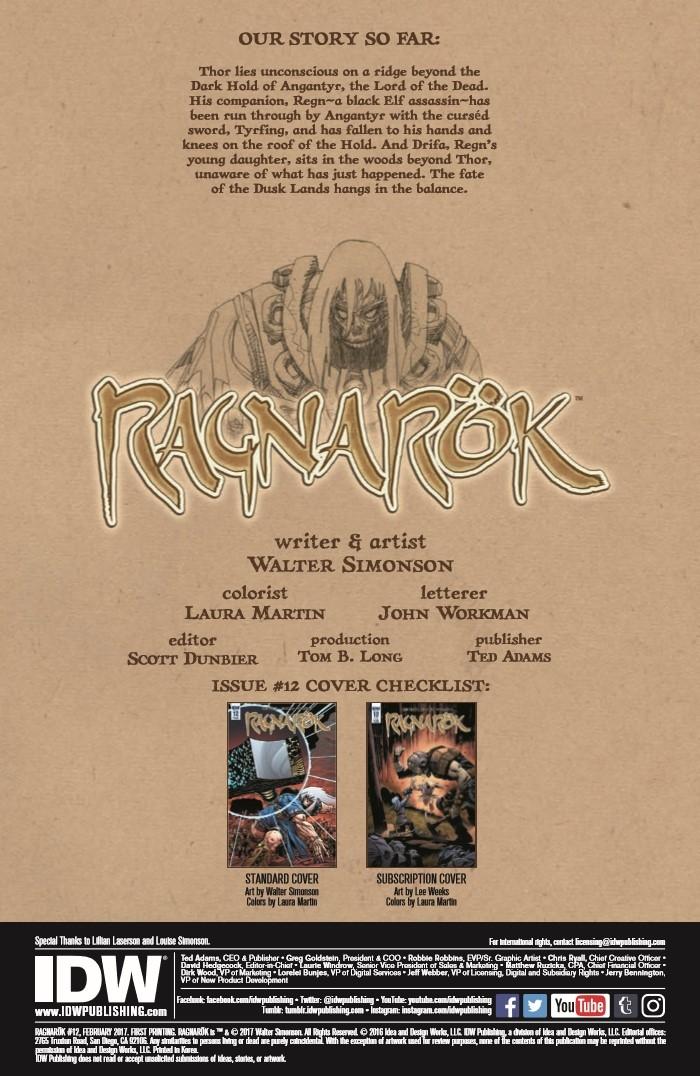 RAGNRK_12-pr-2 ComicList Preview: RAGNAROK #12
