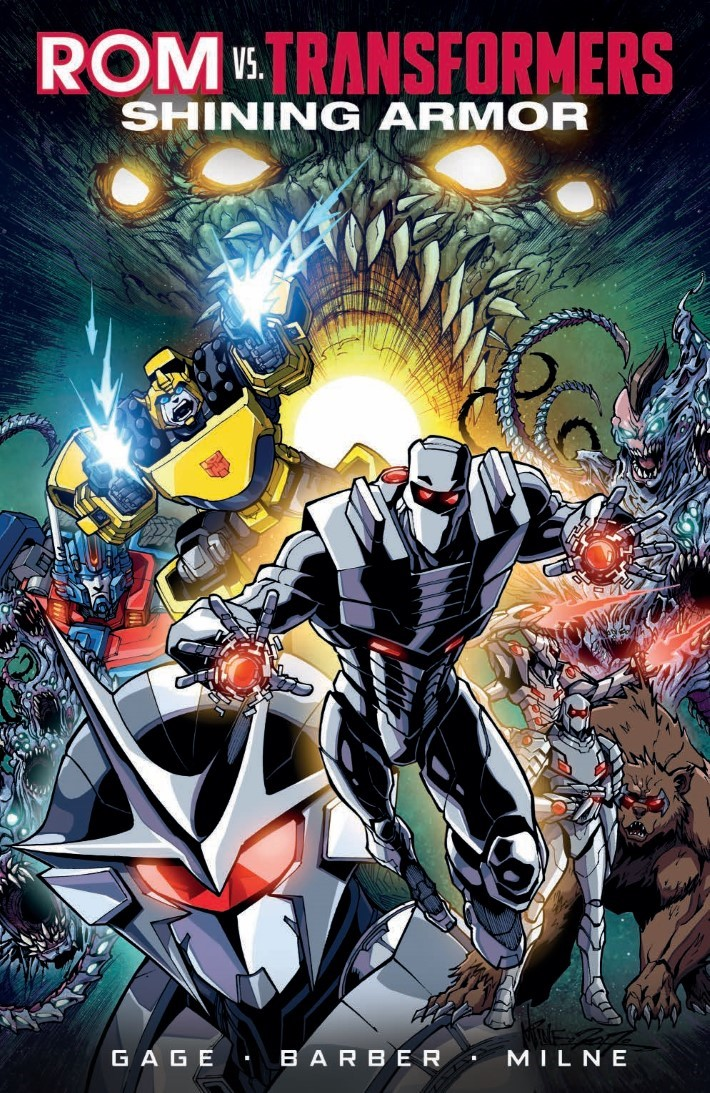 ROMvsTF_TPB-pr-1 ComicList Previews: ROM VS THE TRANSFORMERS SHINING ARMOR TP