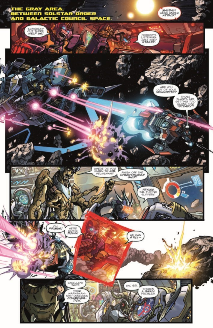 ROMvsTF_TPB-pr-4 ComicList Previews: ROM VS THE TRANSFORMERS SHINING ARMOR TP