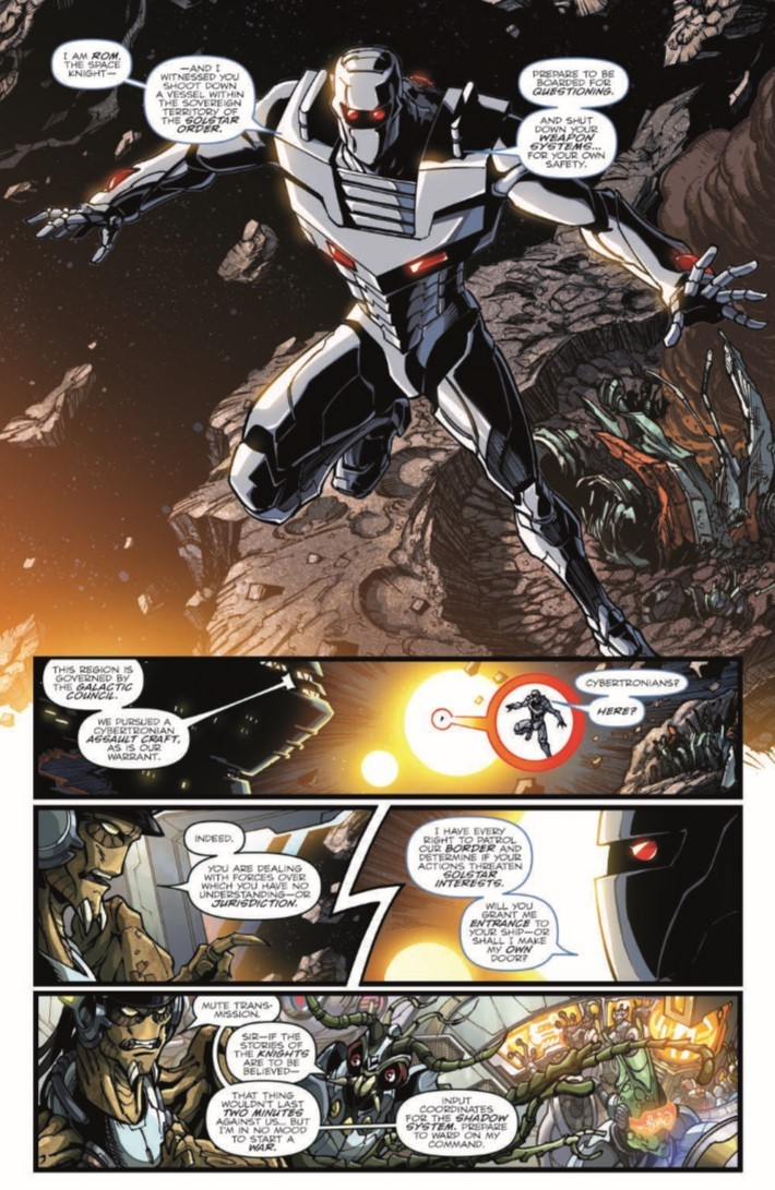 ROMvsTF_TPB-pr-5 ComicList Previews: ROM VS THE TRANSFORMERS SHINING ARMOR TP