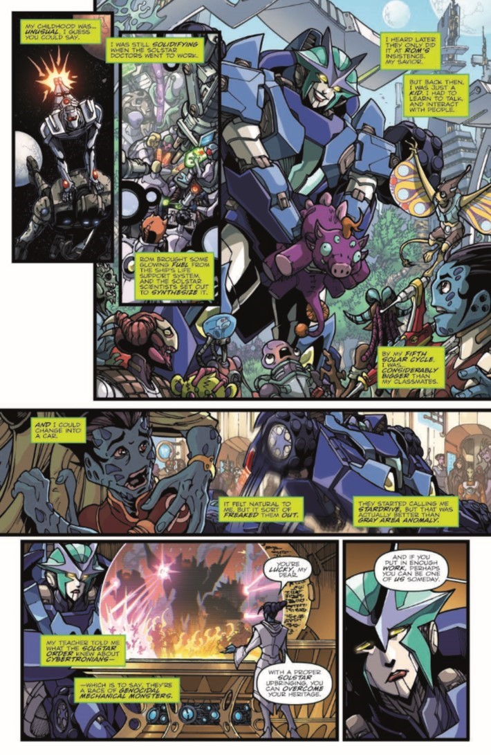 ROMvsTF_TPB-pr-8 ComicList Previews: ROM VS THE TRANSFORMERS SHINING ARMOR TP