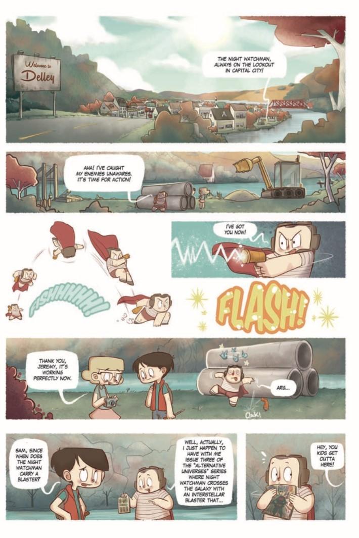 Radio_Delley-pr-4 ComicList Previews: RADIO DELLEY GN