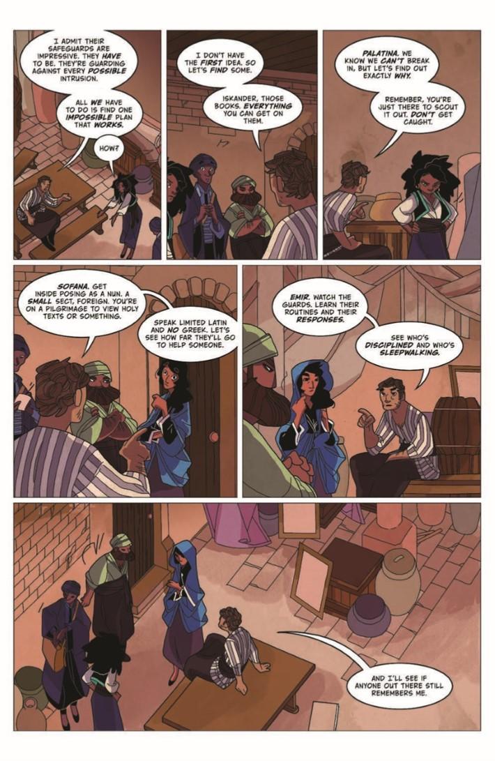 Real_Science_Adventure_Nicodemus_02-pr-5 ComicList Previews: REAL SCIENCE ADVENTURES THE NICODEMUS JOB #2