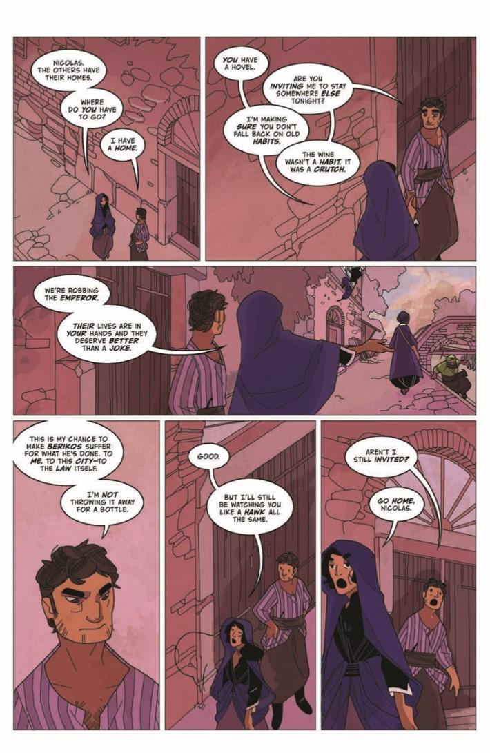 Real_Science_Adventure_Nicodemus_02-pr-6 ComicList Previews: REAL SCIENCE ADVENTURES THE NICODEMUS JOB #2