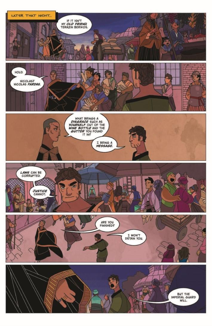 Real_Science_Adventure_Nicodemus_02-pr-7 ComicList Previews: REAL SCIENCE ADVENTURES THE NICODEMUS JOB #2