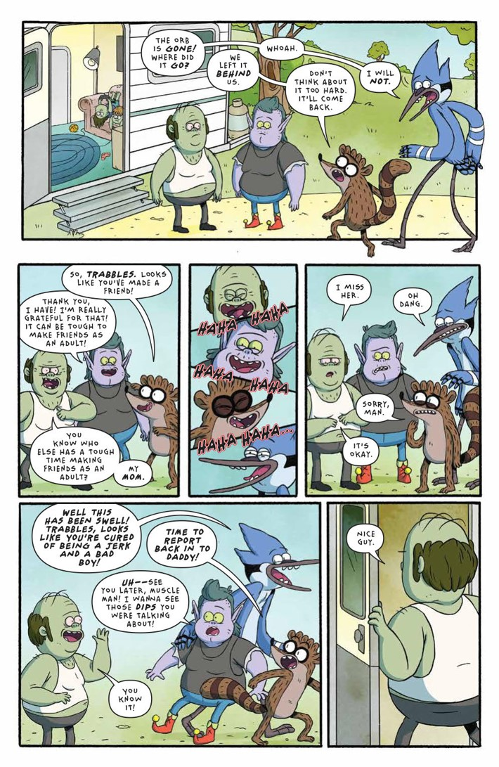 RegularShow_25_Years_Later_004_PRESS_6 ComicList Previews: REGULAR SHOW 25 YEARS LATER #4