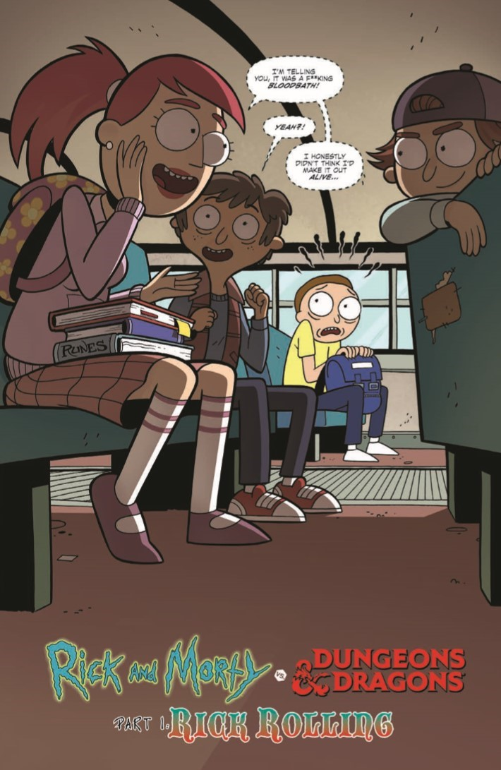 Rick_Morty_DnD_TPB-pr-4 ComicList Previews: RICK AND MORTY VS DUNGEONS AND DRAGONS TP