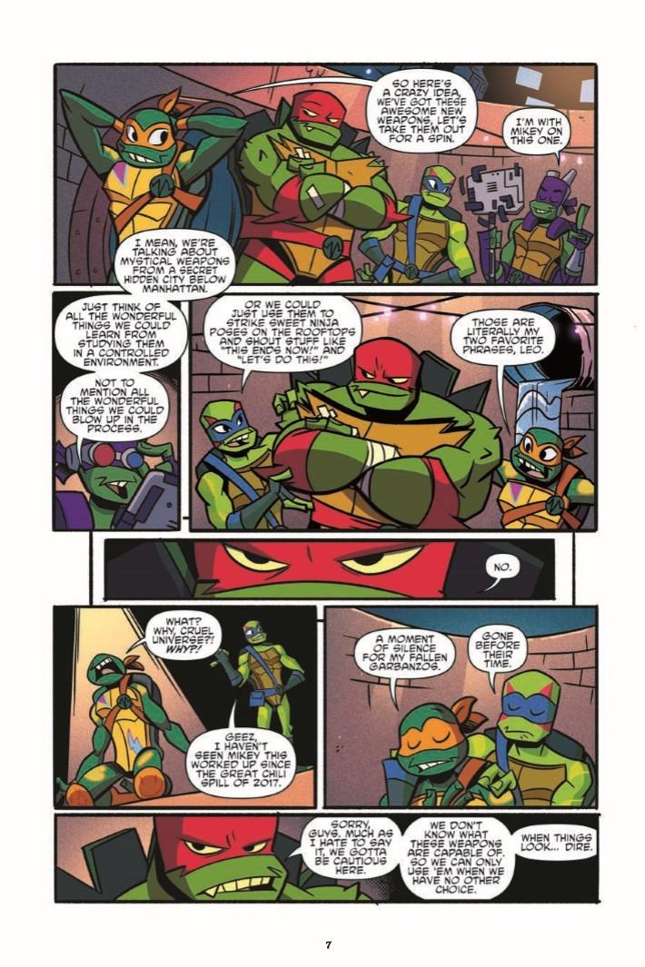 Rise_of_TMNT_Vol01-pr-6 ComicList Previews: RISE OF THE TEENAGE MUTANT NINJA TURTLES VOLUME 1 TP