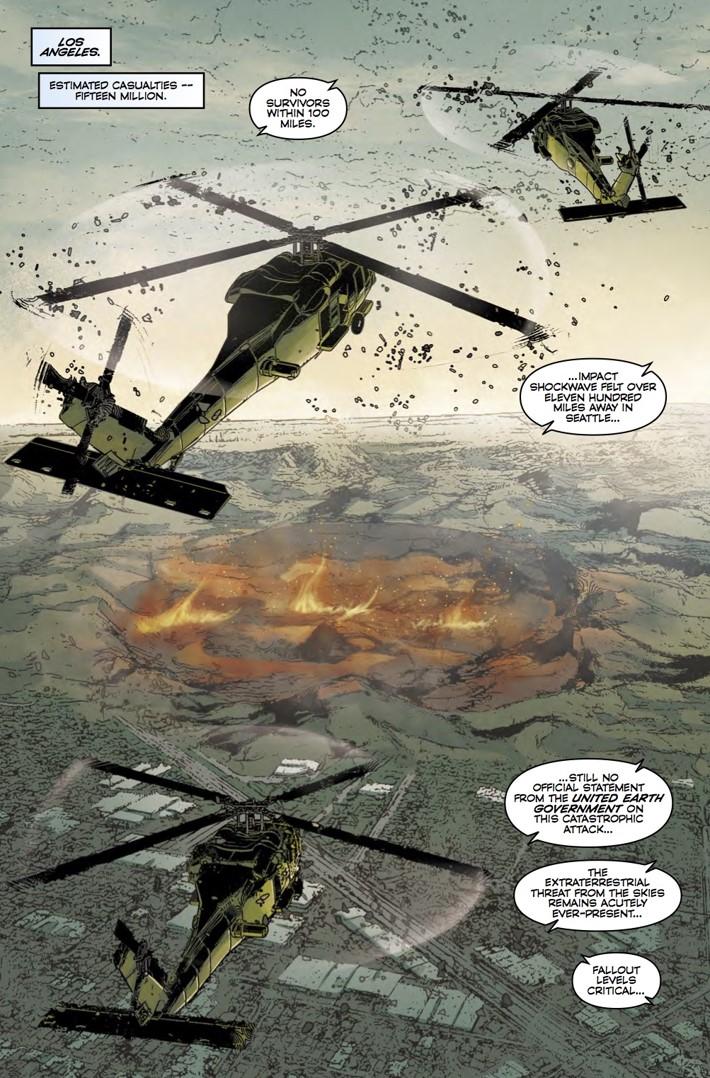 Robotech_19_page1 ComicList Previews: ROBOTECH #19