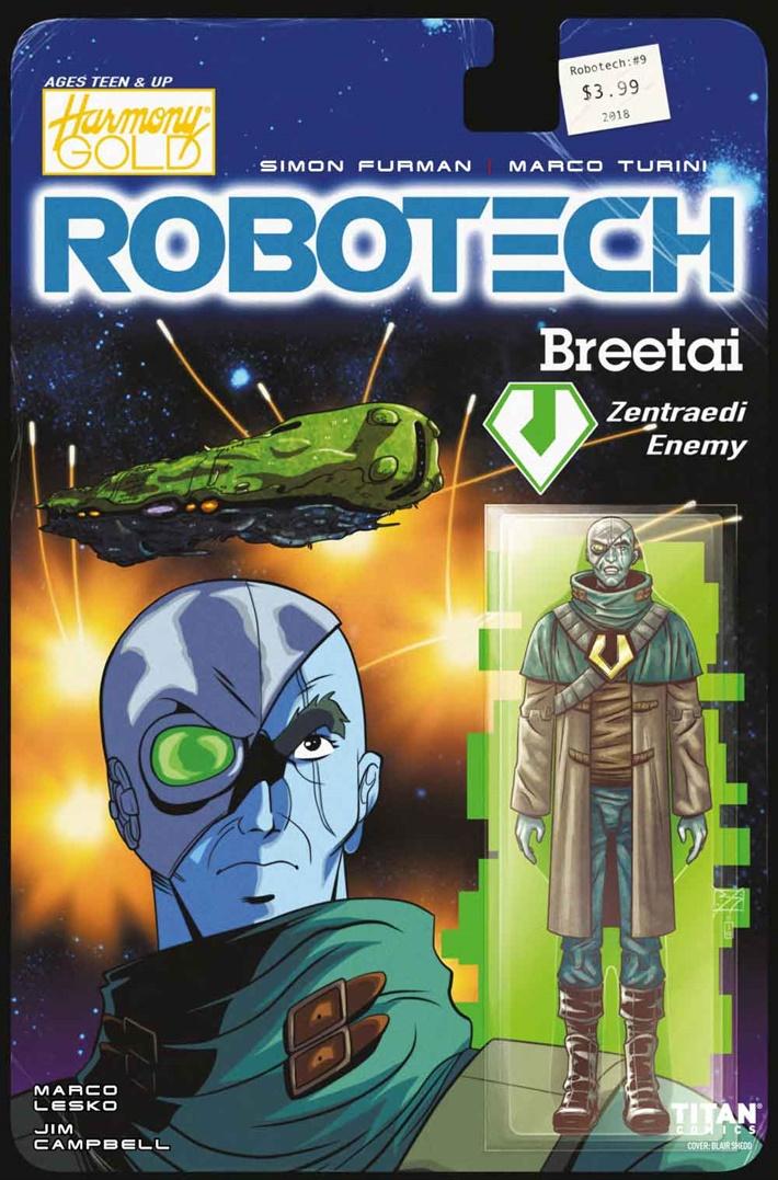 Robotech_9_Cover-B ComicList Previews: ROBOTECH #9