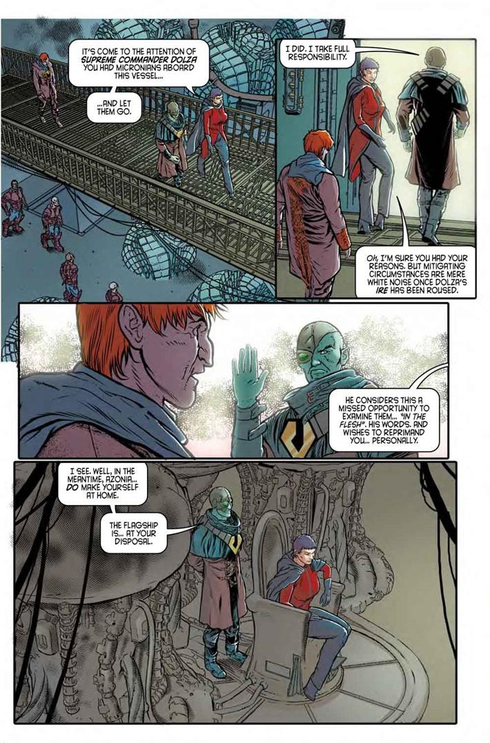 Robotech_9_Pg3 ComicList Previews: ROBOTECH #9