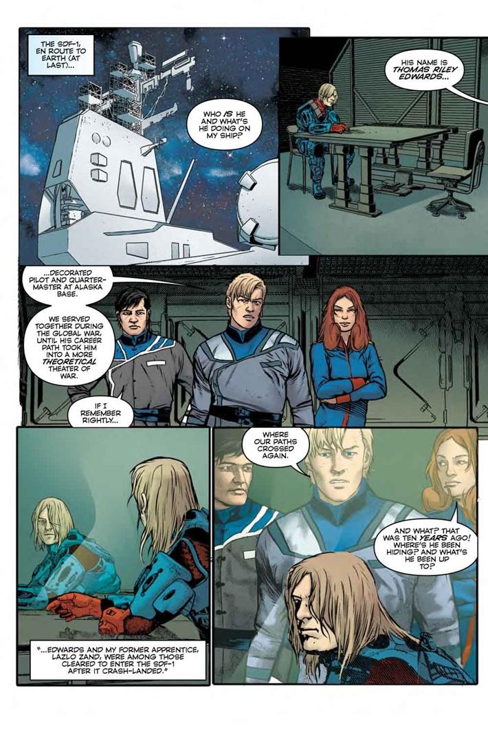 Robotech_9_Pg4 ComicList Previews: ROBOTECH #9
