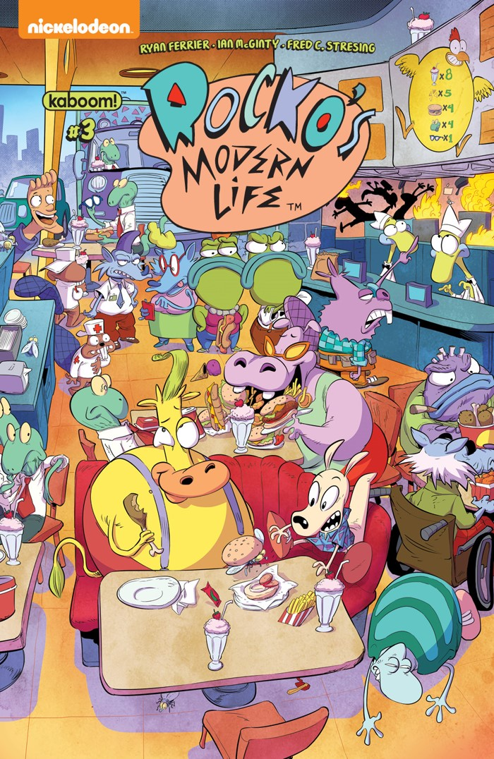 RockosModernLife_003_C_Look&Find ComicList Previews: ROCKO'S MODERN LIFE #3