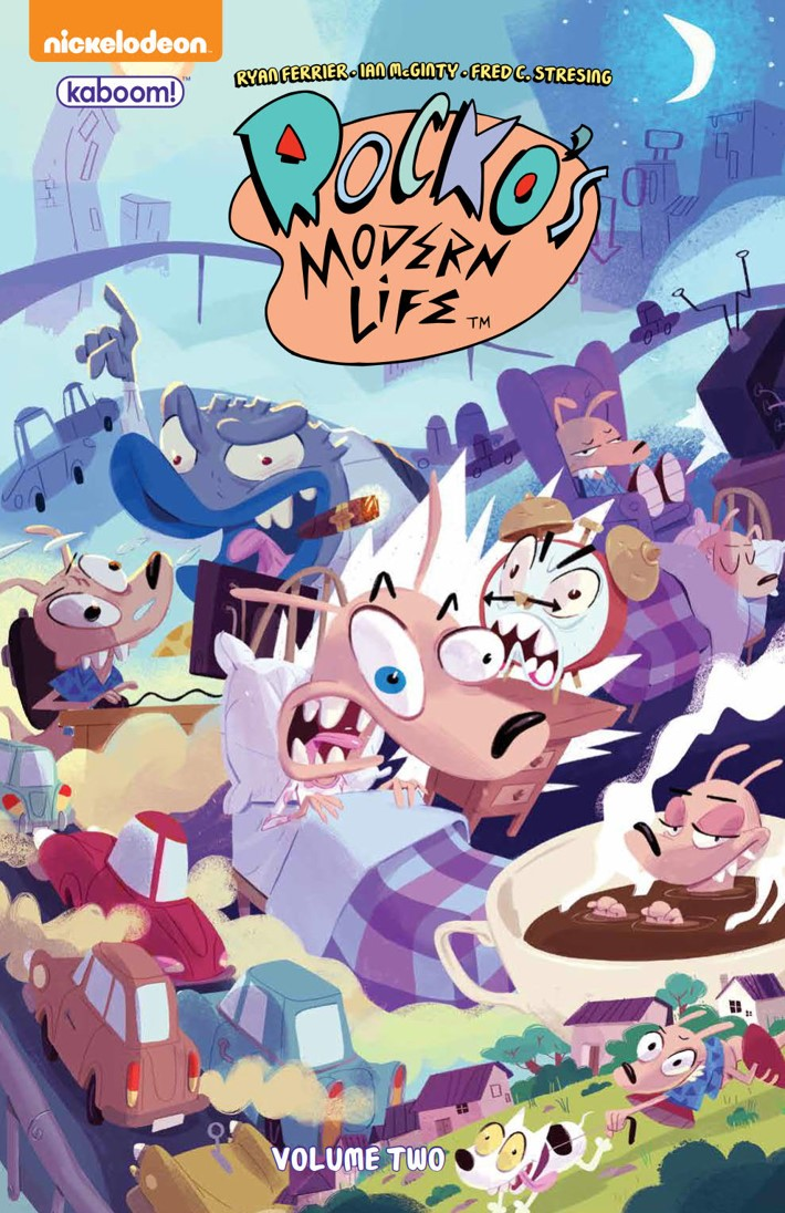RockosModernLife_v2_SC_PRESS_1 ComicList Previews: ROCKO'S MODERN LIFE VOLUME 2 TP