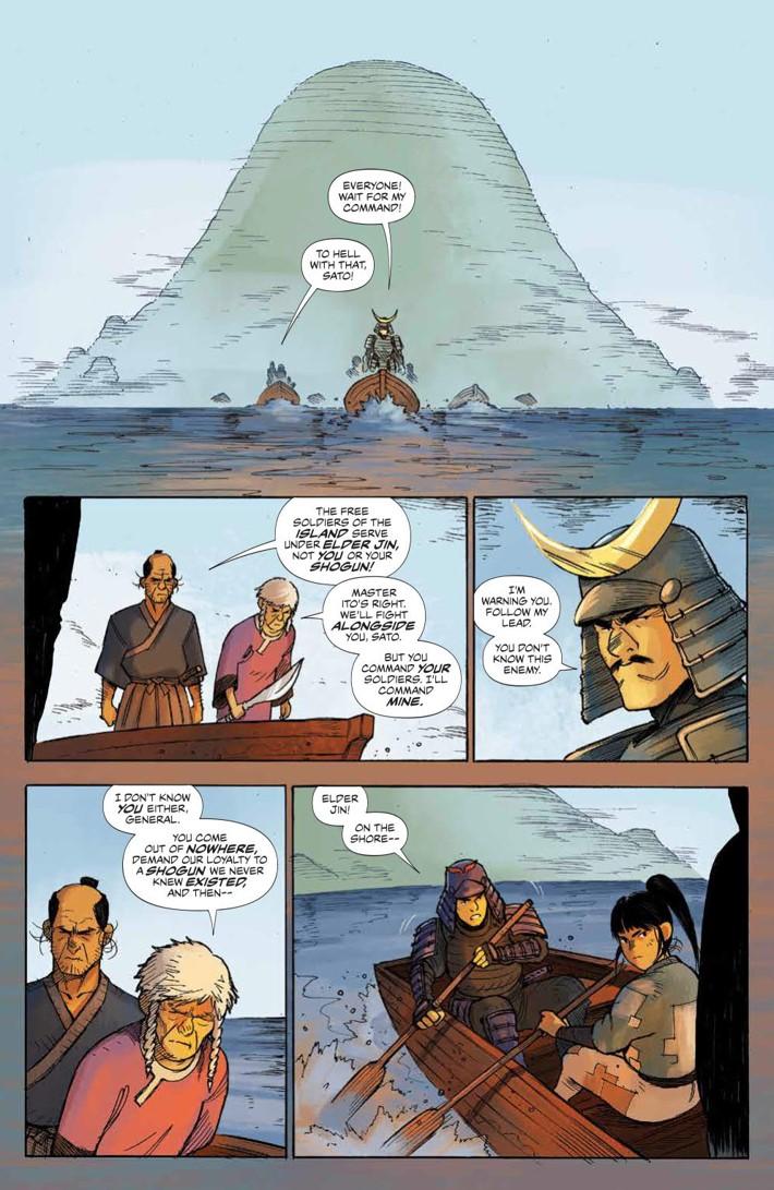 RoninIsland_002_PRESS_3 ComicList Previews: RONIN ISLAND #2