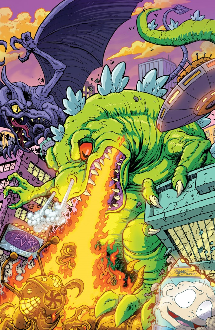Rugrats_RisforReptar_B_Variant ComicList Previews: RUGRATS R IS FOR REPTAR 2018 SPECIAL #1