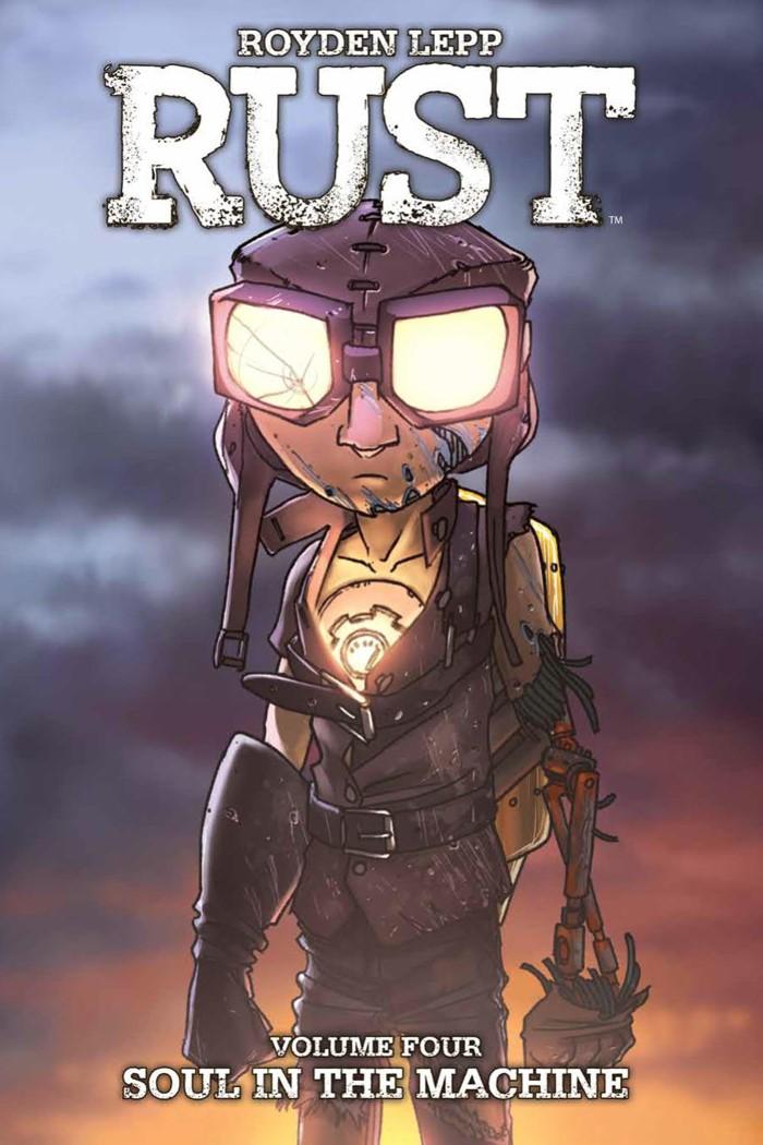 Rust_v4_SC_Cover ComicList Previews: RUST VOLUME 4 HC