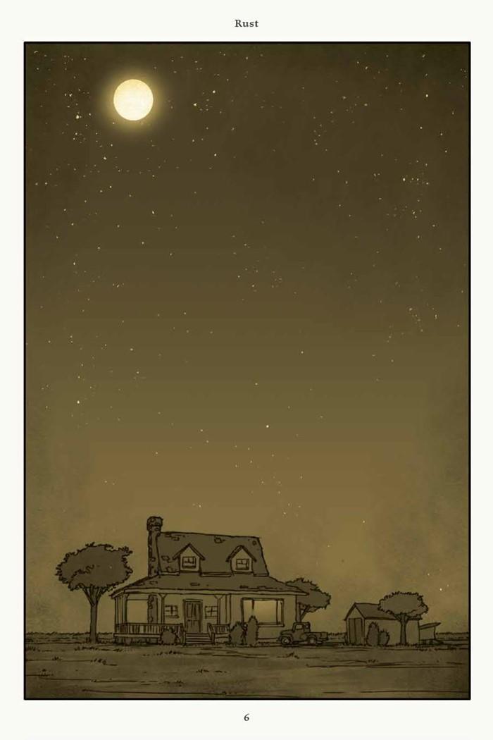 Rust_v4_SC_PRESS_8 ComicList Previews: RUST VOLUME 4 HC
