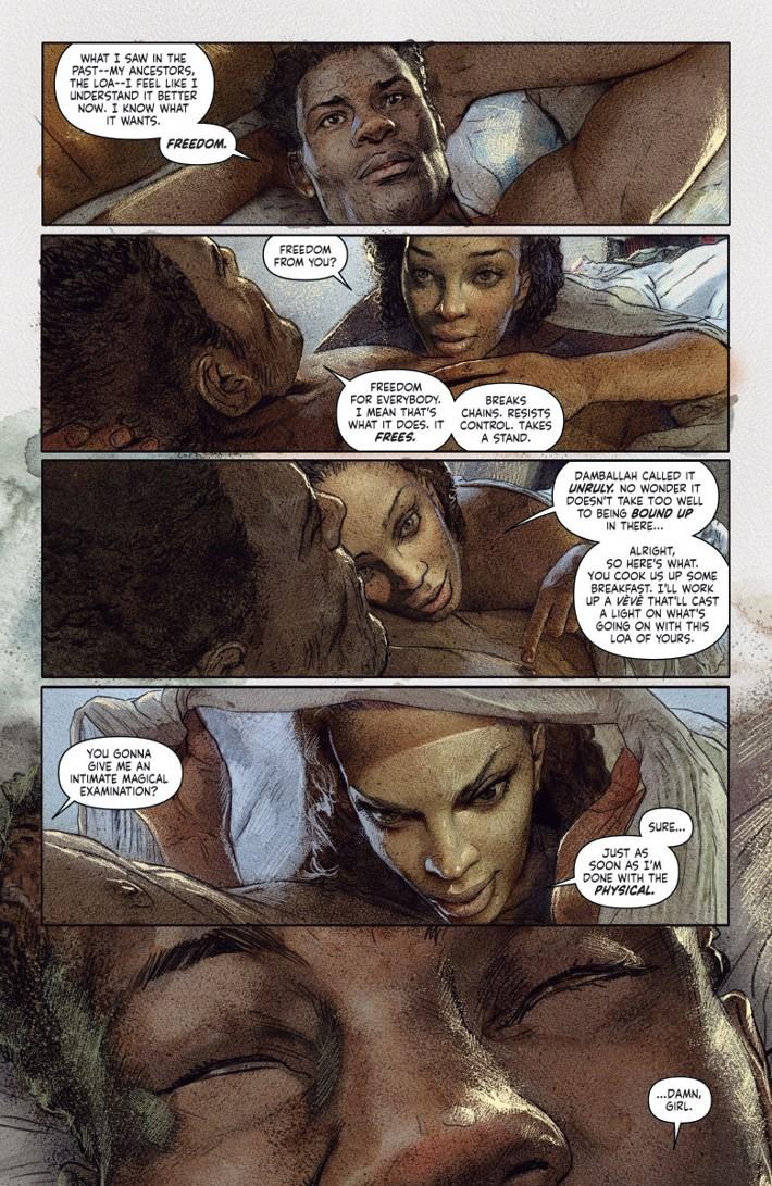 SHADOWMANVOL3_PREVIEW_2 ComicList Previews: SHADOWMAN VOLUME 3 RAG AND BONE TP