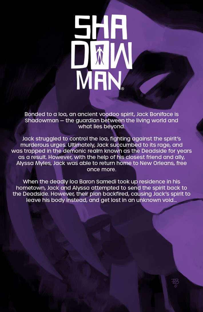 SM2018_TPB_002_001 ComicList Previews: SHADOWMAN (2018) VOLUME 2 DEAD AND GONE TP