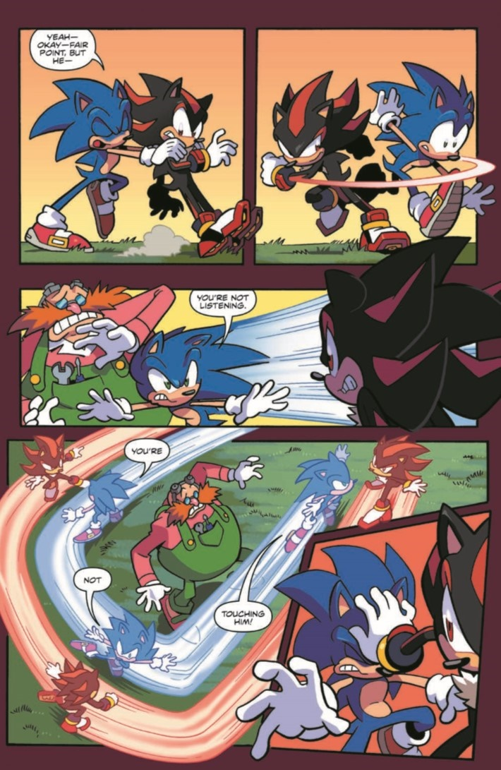 SONIC_06-pr-5 ComicList Previews: SONIC THE HEDGEHOG #6