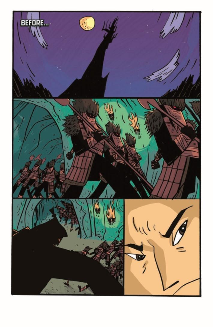 SamuraiJack_QJ_05-pr-3 ComicList Previews: SAMURAI JACK QUANTUM JACK #5