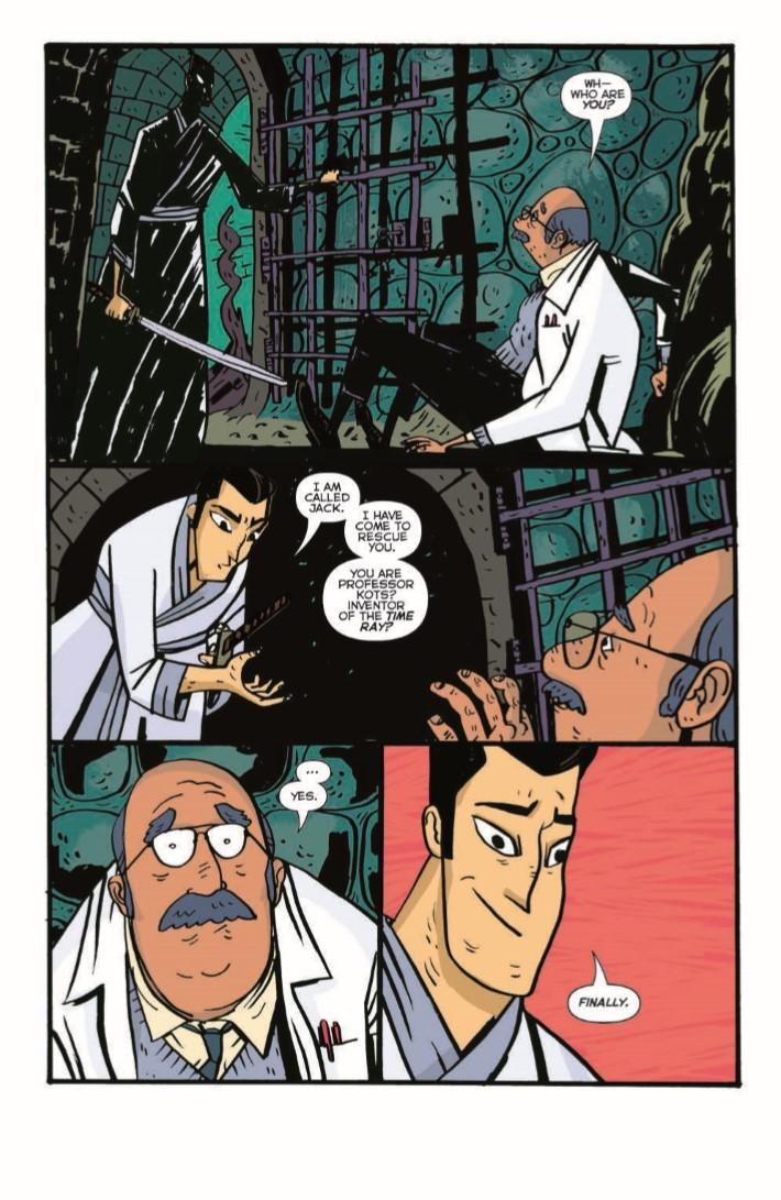 SamuraiJack_QJ_05-pr-6 ComicList Previews: SAMURAI JACK QUANTUM JACK #5