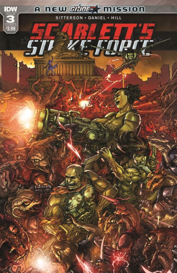 ScarlettStrikeForce_03-pr-1 ComicList Previews: SCARLETT'S STRIKE FORCE #3