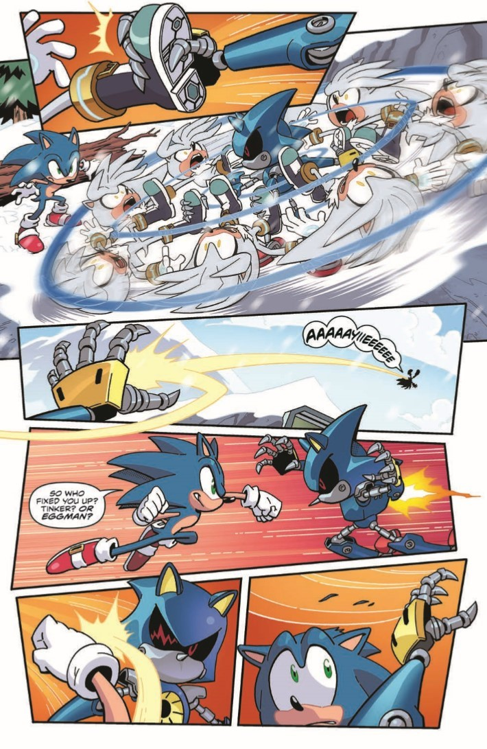 Sonic_14-pr-5 ComicList Previews: SONIC THE HEDGEHOG #14