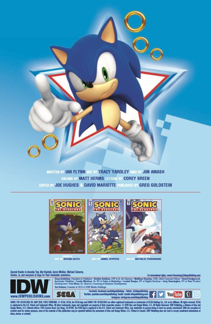 Sonic_the_Hedgehog_05-pr-2 ComicList Previews: SONIC THE HEDGEHOG #5
