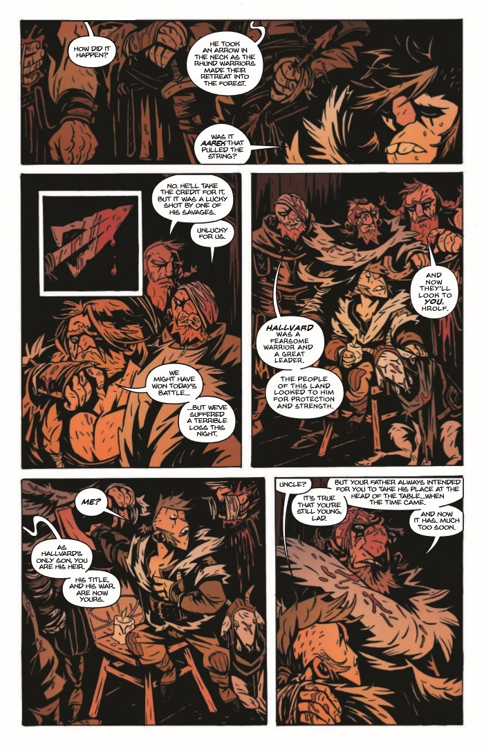 SpiderKing_01-pr-4 ComicList Previews: THE SPIDER KING #1