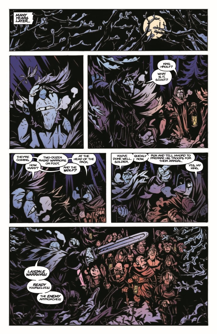 Spider_King_TPB-pr-7 ComicList Previews: THE SPIDER KING TP