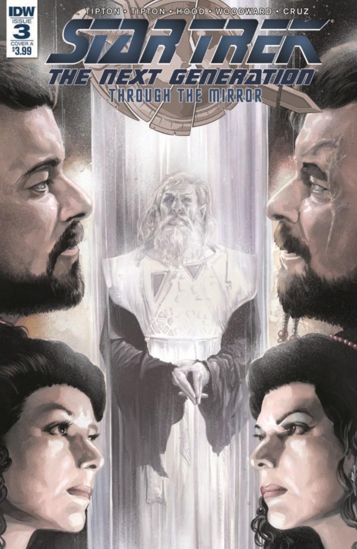 StarTrekTNG_ThroughTheMirror_03-pr-1 ComicList Previews: STAR TREK THE NEXT GENERATION THROUGH THE MIRROR #3