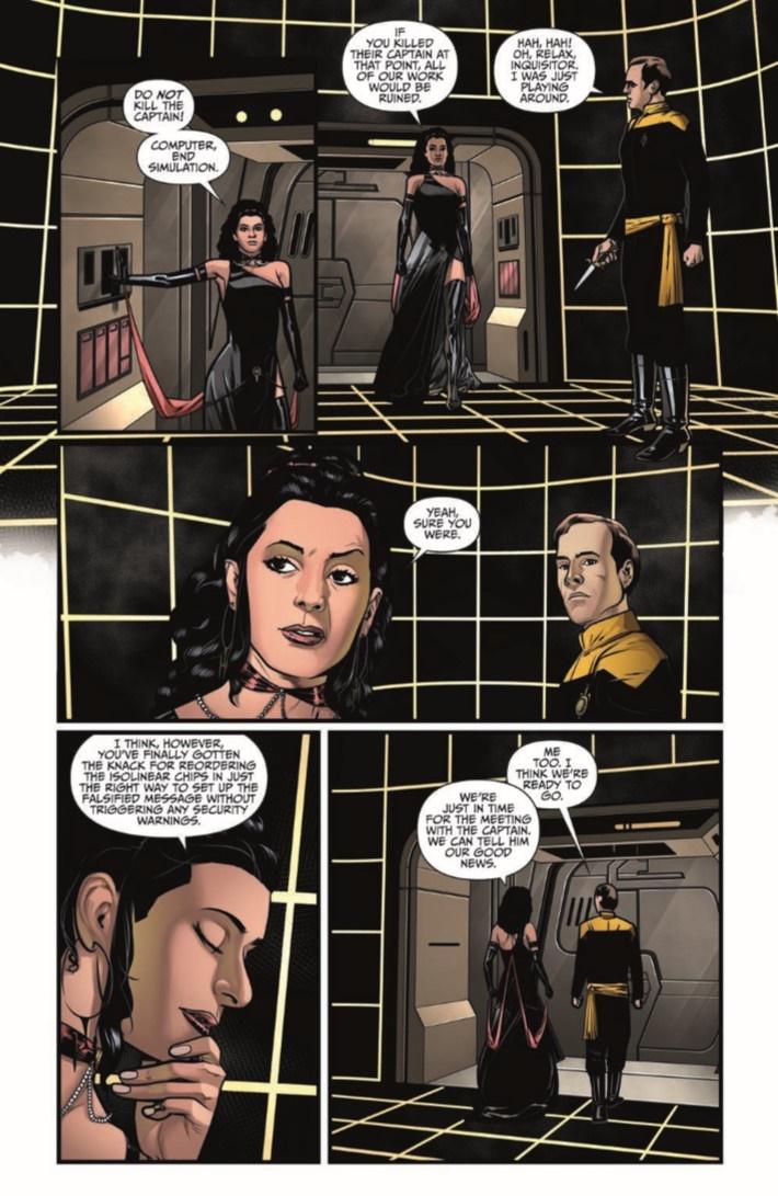 StarTrekTNG_ThroughTheMirror_03-pr-7 ComicList Previews: STAR TREK THE NEXT GENERATION THROUGH THE MIRROR #3
