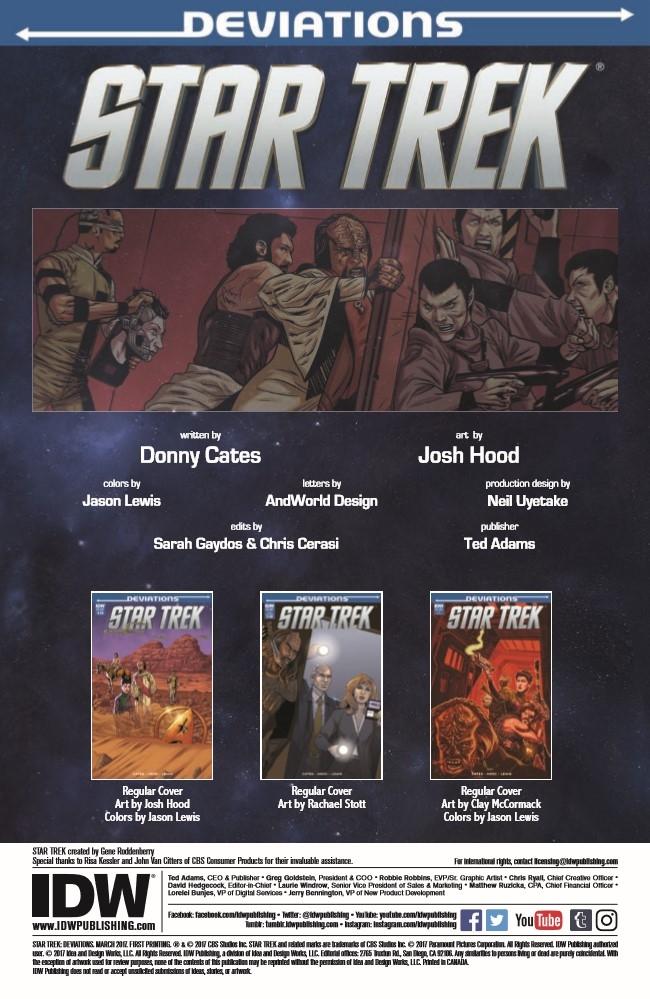 StarTrek_Deviations_2017-pr-2 ComicList Preview: STAR TREK DEVIATIONS #1