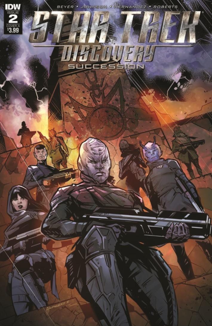 StarTrek_DiscoverySuccession_02-pr-1 ComicList Previews: STAR TREK DISCOVERY SUCCESSION #2