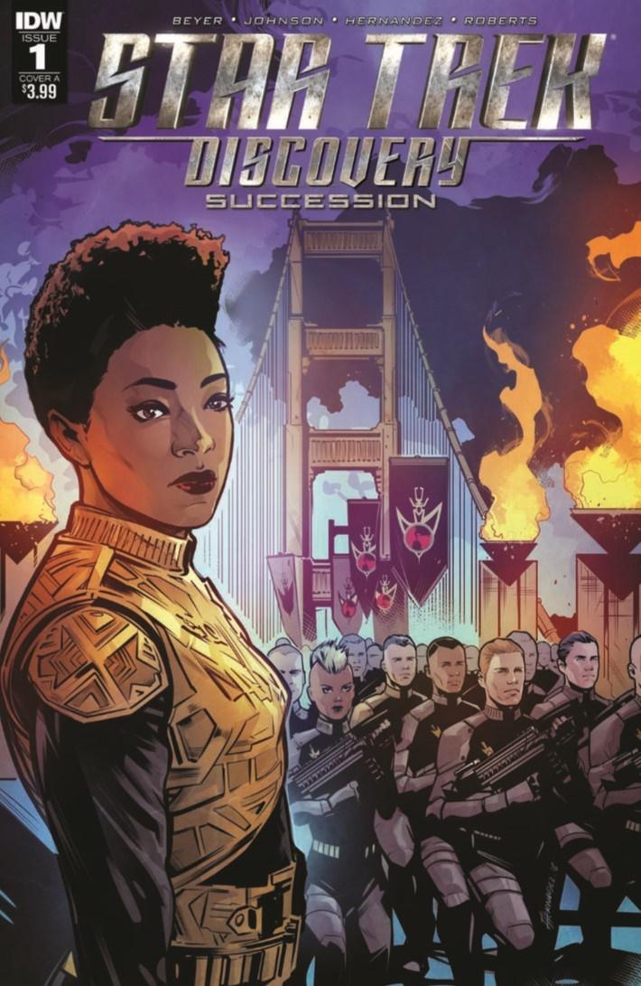 StarTrek_Discovery_Succession_01-pr-1 ComicList Previews: STAR TREK DISCOVERY SUCCESSION #1