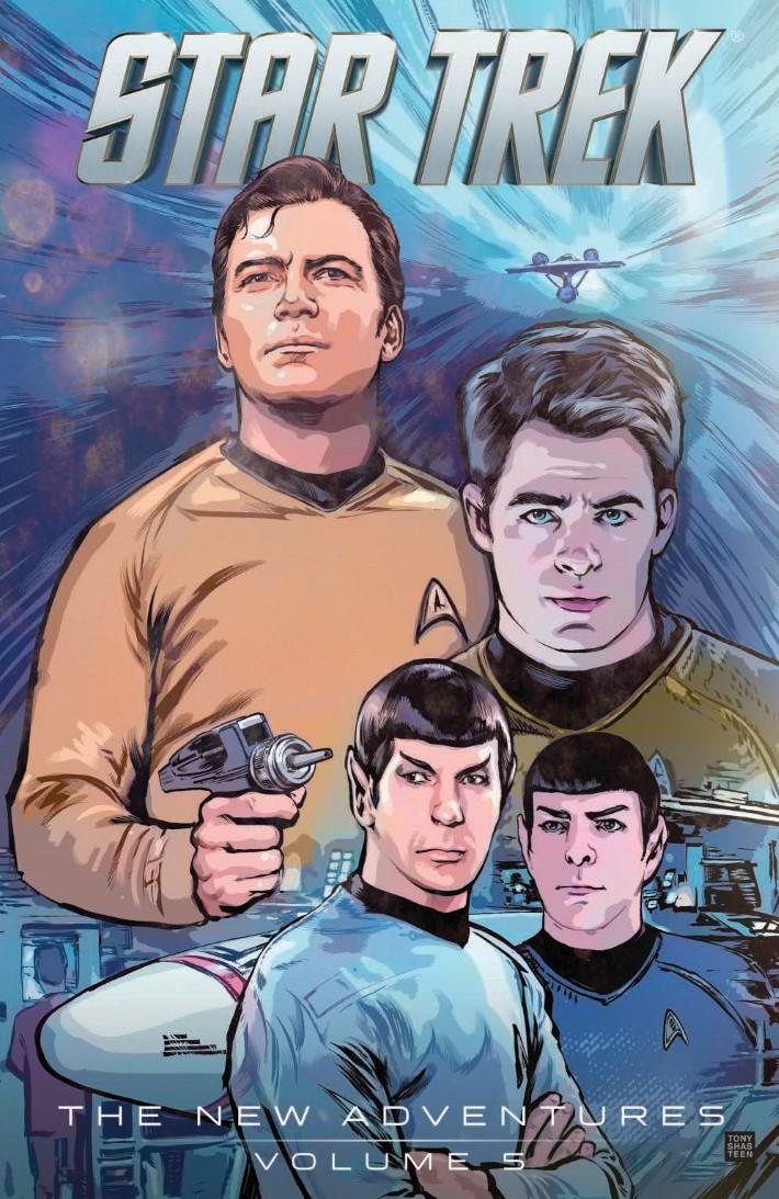 StarTrek_NewAdv_v5-pr-1 ComicList Previews: STAR TREK NEW ADVENTURES VOLUME 5 TP