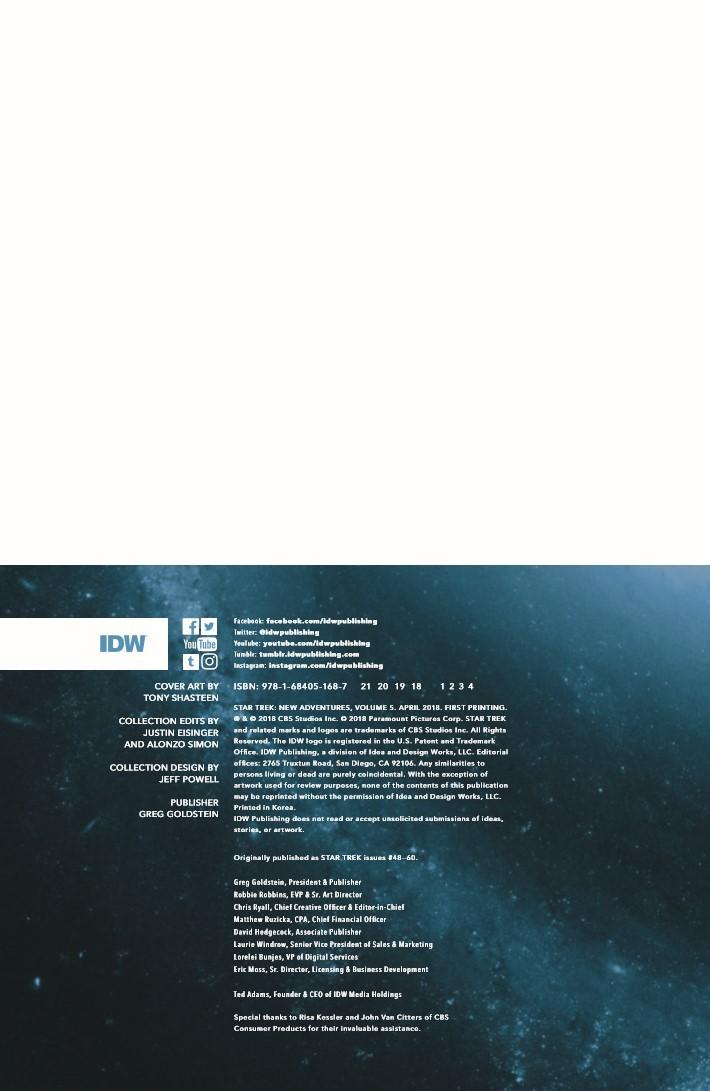 StarTrek_NewAdv_v5-pr-2 ComicList Previews: STAR TREK NEW ADVENTURES VOLUME 5 TP