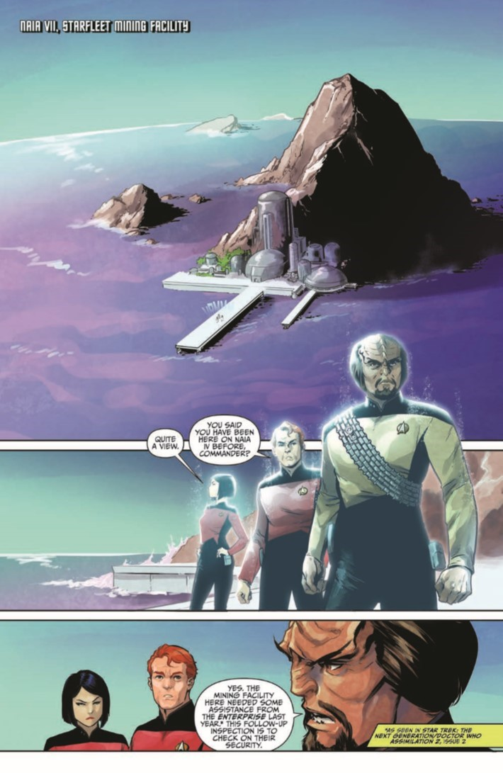 StarTrek_TNG_Through_the_Mirror_TPB-pr-4 ComicList Previews: STAR TREK THE NEXT GENERATION THROUGH THE MIRROR TP