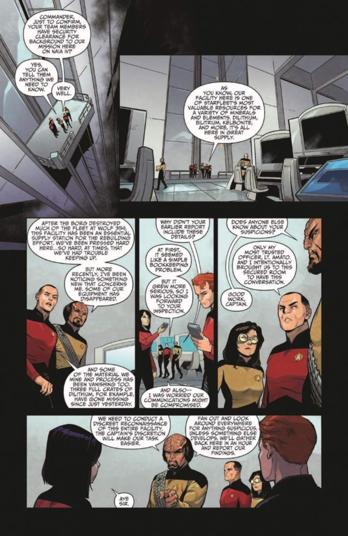 StarTrek_TNG_Through_the_Mirror_TPB-pr-6 ComicList Previews: STAR TREK THE NEXT GENERATION THROUGH THE MIRROR TP
