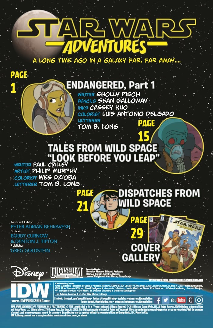 StarWarsAdv_07-pr-2 ComicList Previews: STAR WARS ADVENTURES #7